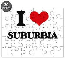 I love Suburbia Puzzle
