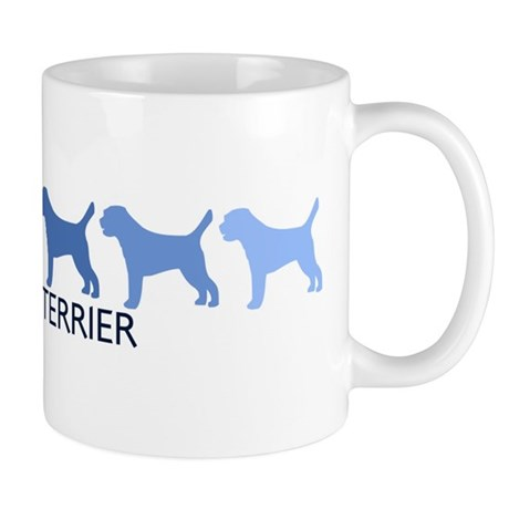 Border Terrier (blue color sp Mug