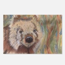 Wally Wombat Postcards (Package of 8)