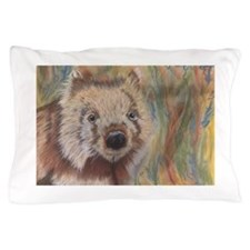 Wally Wombat Pillow Case