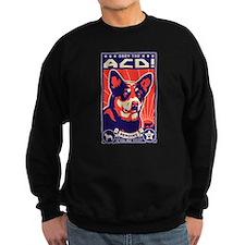 Funny Australian cattle dog christmas Sweatshirt
