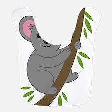 Cartoon Koala in a Tree Bib