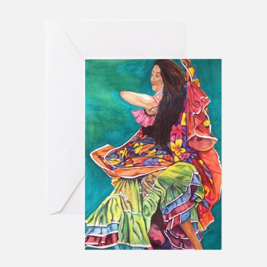 Gypsy Dancer Greeting Cards