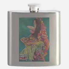 Gypsy Dancer Flask