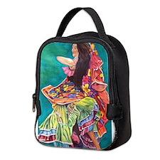 Gypsy Dancer Neoprene Lunch Bag