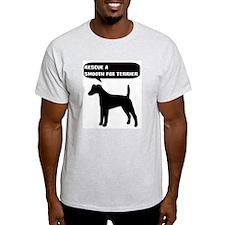 Rescue a Smooth Fox Terrier T-Shirt