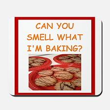 oatmeal cookies Mousepad