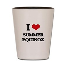 I love Summer Equinox Shot Glass