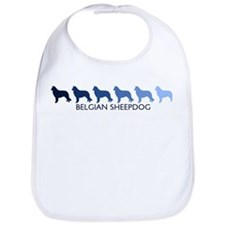 Belgian Sheepdog (blue color  Bib