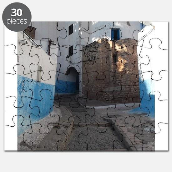 Kasbah des Oudaias, Rabat, Morocco Puzzle