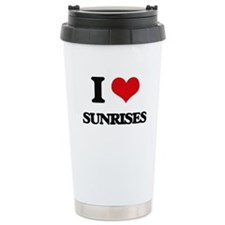 I love Sunrises Travel Mug