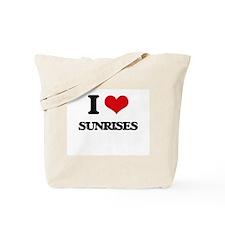 I love Sunrises Tote Bag
