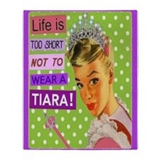 Tiara Throw Blanket