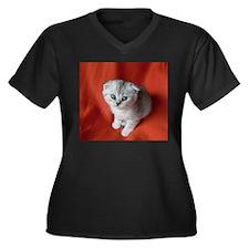 Scottish Fold Plus Size T-Shirt