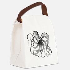 Unique Octopus Canvas Lunch Bag