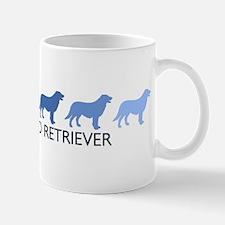 Flat Coated Retriever (blue c Mug