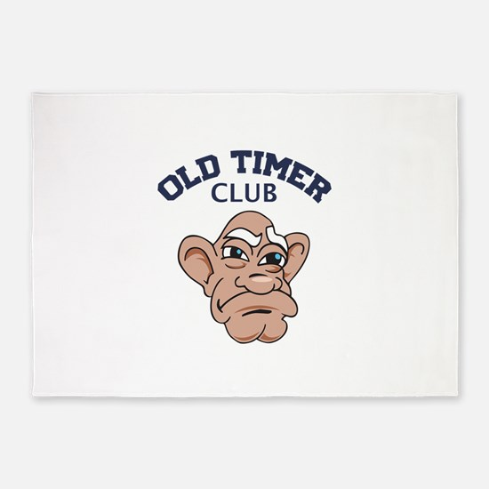 Old Timer Club 5'x7'Area Rug