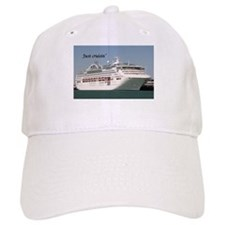 Just cruisin': Dawn Princess cruise ship Baseball Cap