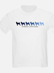Finnish Lapphund (blue color  T-Shirt