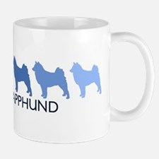 Finnish Lapphund (blue color  Mug