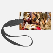 Nativity Luggage Tag