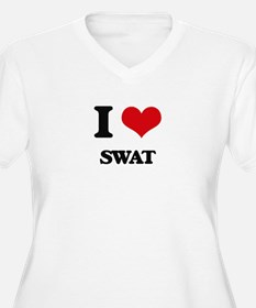 I love Swat Plus Size T-Shirt
