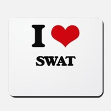 I love Swat Mousepad