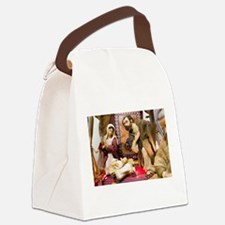 Nativity Canvas Lunch Bag