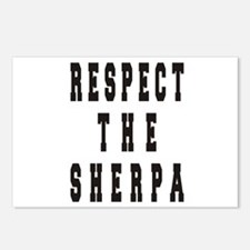 Respect the Sherpa Postcards (Package of 8)