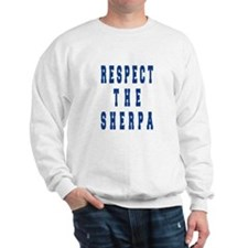 Respect the Sherpa Blue Jumper