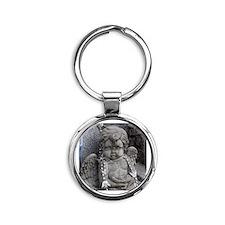 New Orleans Angel  Round Keychain