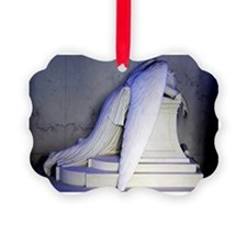 Weeping Angel, NOLA Picture Ornament