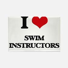 I love Swim Instructors Magnets