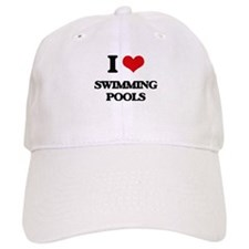 I love Swimming Pools Baseball Cap