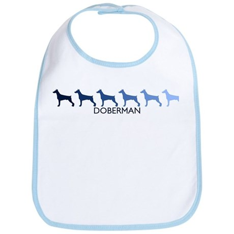 Doberman (blue color spectrum Bib