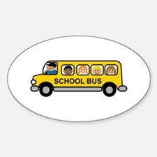 School Bus Kids Decal