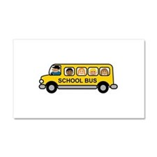 School Bus Kids Car Magnet 20 x 12