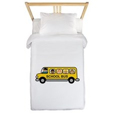 School Bus Kids Twin Duvet