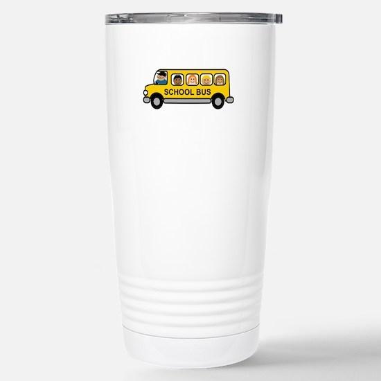 School Bus Kids Travel Mug