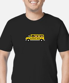 School Bus Kids T-Shirt