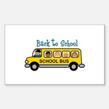 Back To School Decal
