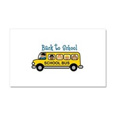 Back To School Car Magnet 20 x 12