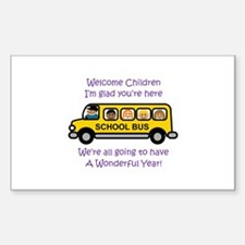 Welcome Childern Decal
