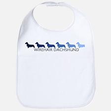 Wirehair Dachshund (blue colo Bib