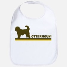 Otterhound (retro-blue) Bib