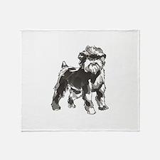 AFFENPINSCHER DOG Throw Blanket