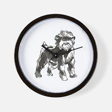 AFFENPINSCHER DOG Wall Clock