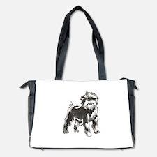 AFFENPINSCHER DOG Diaper Bag
