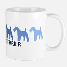 Wire Fox Terrier (blue color  Mug