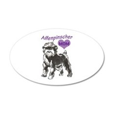 AFFENPINSCHER MOM Wall Decal
